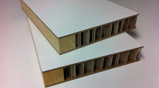 Leichtbauplatten mit Rahmen - HEXALIGHT - VOMO Leichtbautechnik