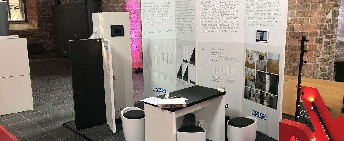VX MODUL Ausstellungswand - Leichtbau by VOMO Leichtbautechnik